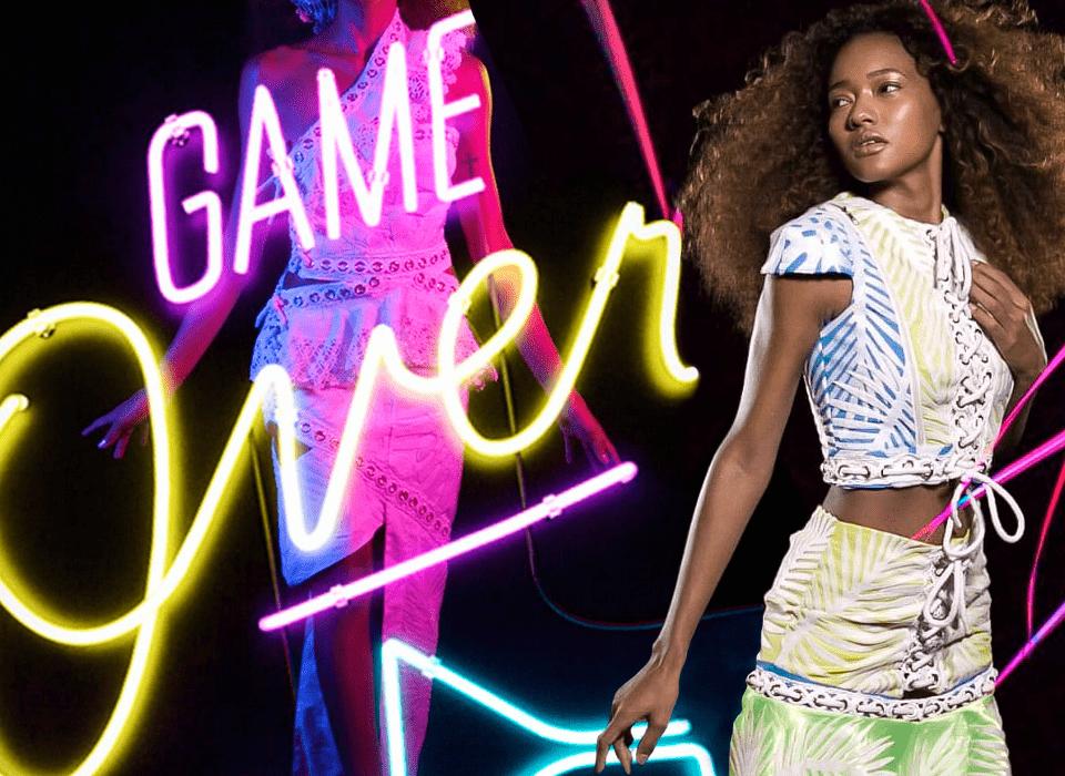 Desfile Fashion Filme com realidade virtual - Zigg Brasil Aviamentos