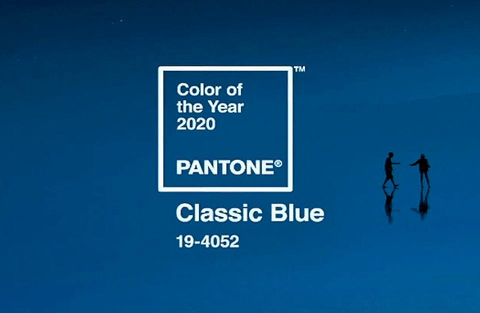 Classic Blue é eleita a cor do ano de 2020 pela Pantone - Zigg Brasil Aviamentos
